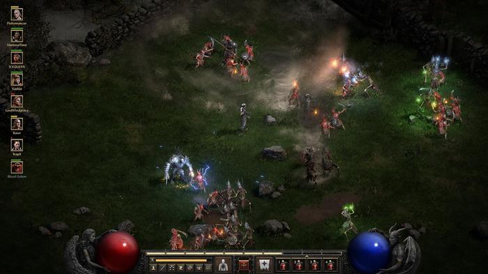 Diablo 2 Resurrected 8 player co-op