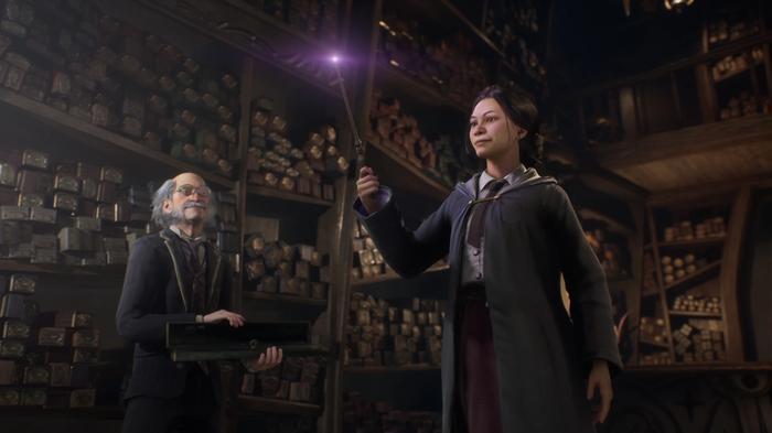 Hogwarts Legacy screenshot.