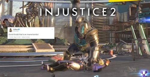 Gorilla Grodd Injustice 2 Combo Is So Amazing That Ed Boon Himself Dished Out High Praise