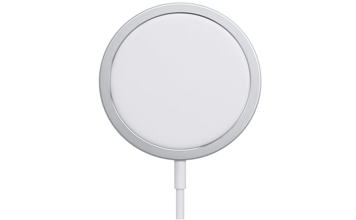 best wireless charger, product image of a white charging pad