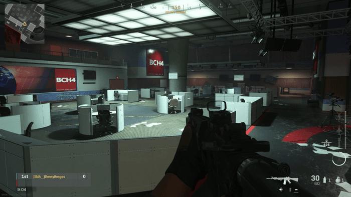 Broadcast Modern Warfare Map