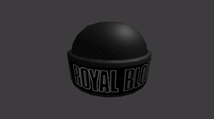Roblox Beanie for Royal Blood Band