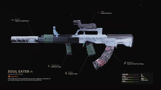 Soul Eater Warzone Blueprint How To Unlock Attachments