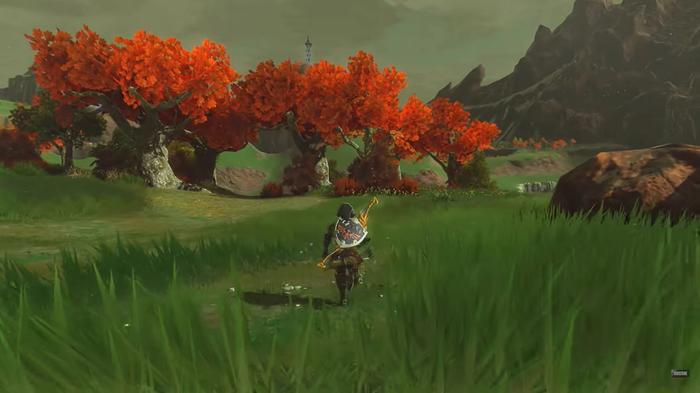 East Akkala in the Breath of the Wild ray tracing mod