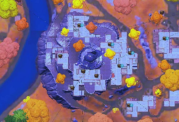 Fortnite Spire chest locations