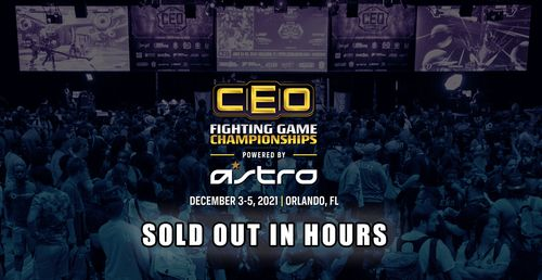 CEO 2021 Reaching Its Attendance Cap In Hours Proves The FGC Is Ready To Make A Big Comeback