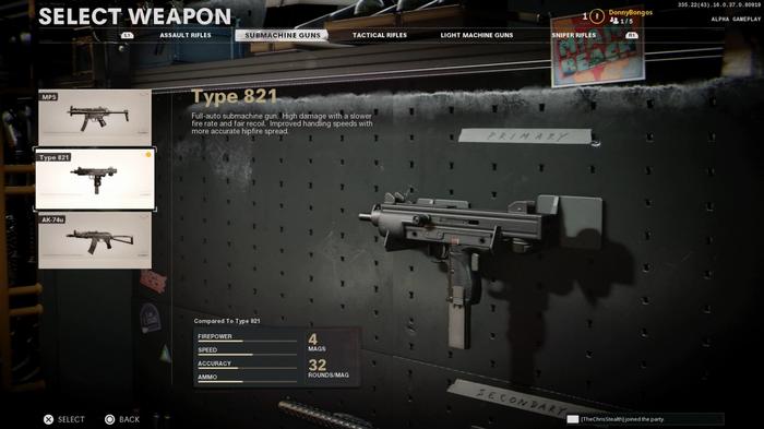 Black Ops Cold War Type 821