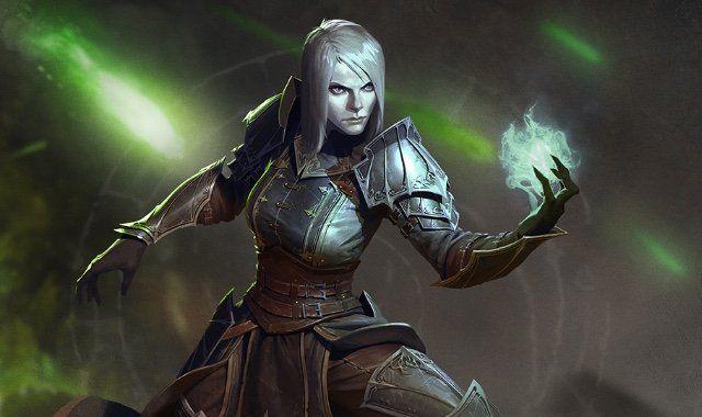 Diablo 3 female necromancer