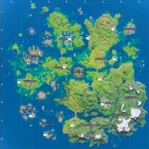 Fortnite Chapter 2 Season 3 new map POIs