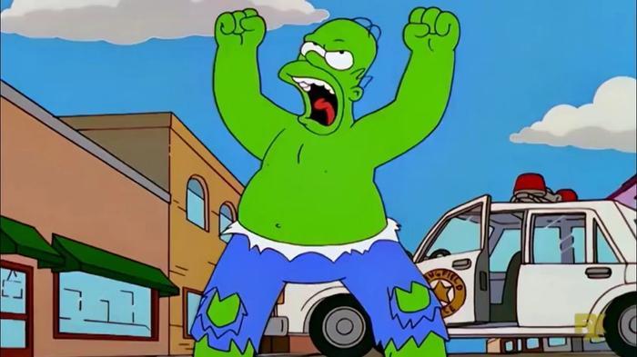 Hulk Homer Simpson