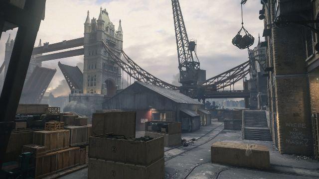 London Docks COD 2021 COD Vanguard