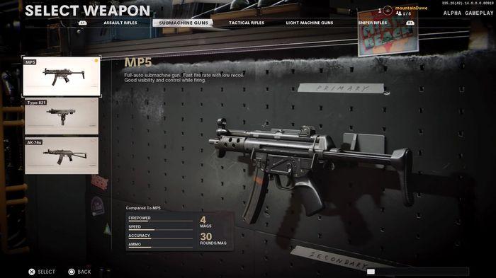 MP5 Black Ops Cold War