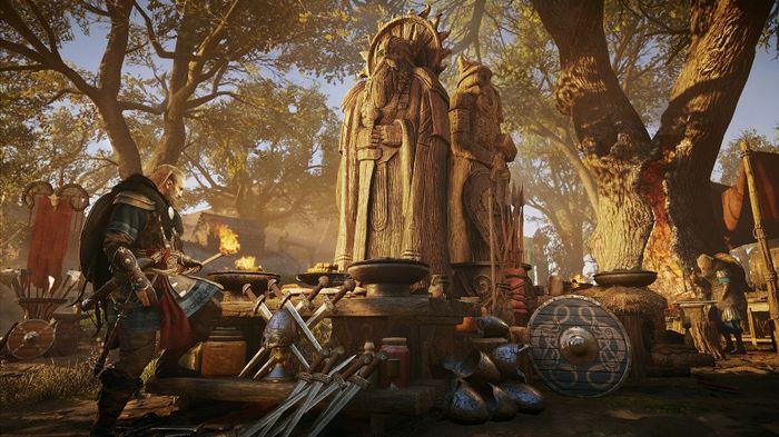 Image depicting Assassin's Creed Valhalla Sigrblot festival