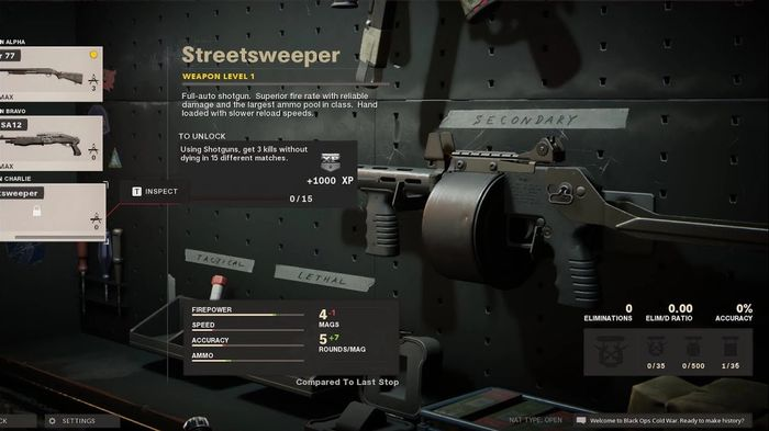 Streetsweeper Black Ops Cold War