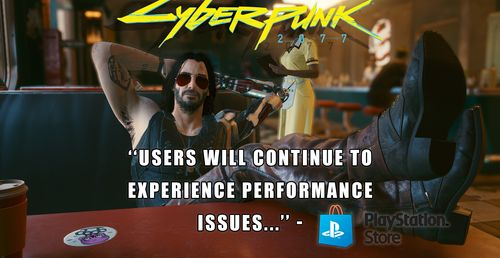 Sony Urges Caution To Players About Cyberpunk 2077 Returning To PlayStation Store