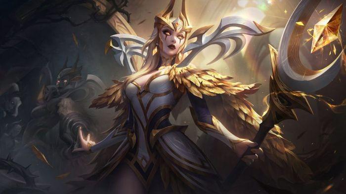 League of Legends COVEN LEBLANC PRESTIGE EDITION splash art
