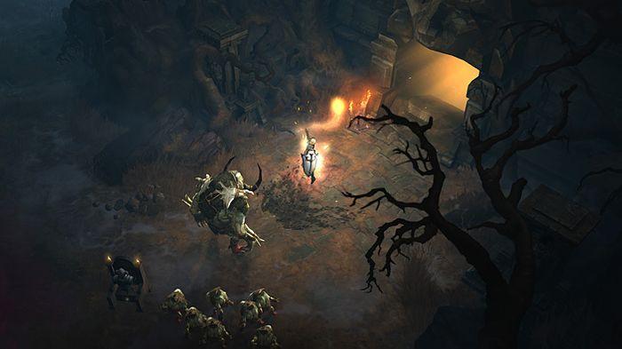 Diablo 3 image showing Crusader class