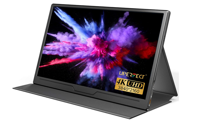best portable monitor, product image of an aluminium shelled portable monitor