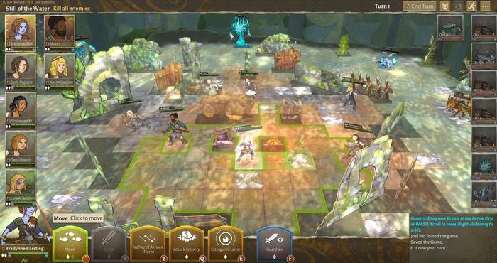 Wildermyth review combat