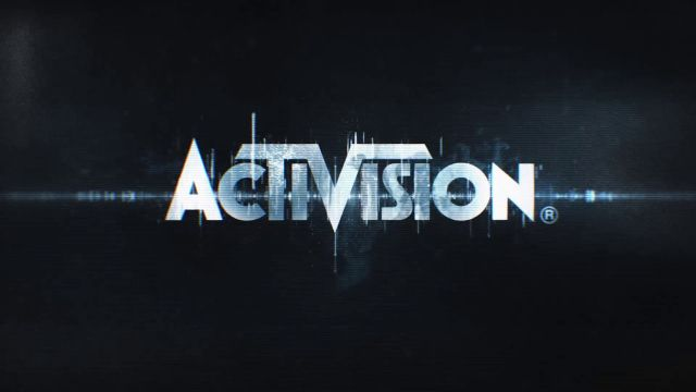 Activision Logo On Black Background