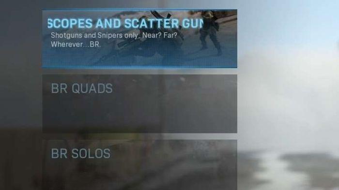 Warzone playlists