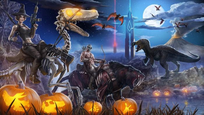 For Honor Halloween Event Screenshot of Pumpkins