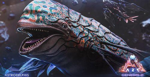 How To Tame Astrodelphis In Ark Genesis Part 2 DLC
