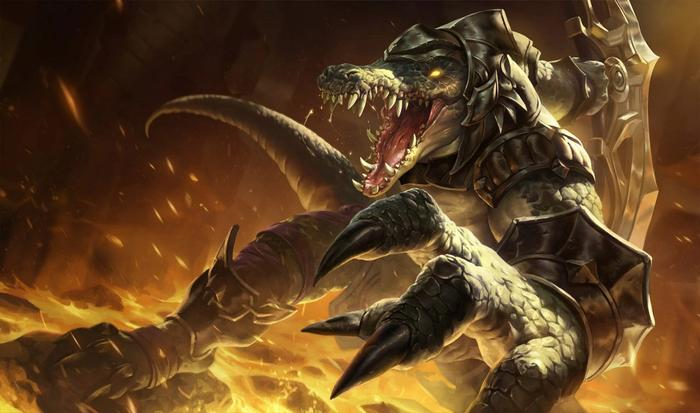 Renekton from League of Legends.