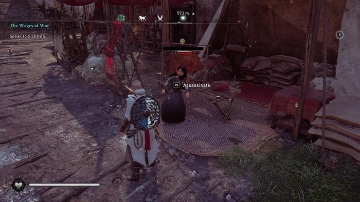 Assassin's Creed Valhalla Druid Order target