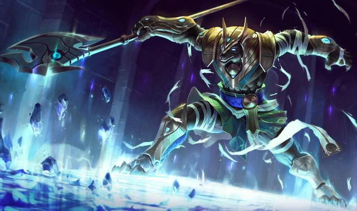 Nasus from League of Legends.