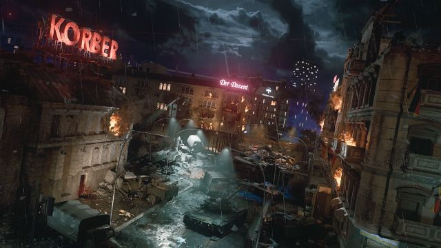Overview of Mauer Der Toten Black Ops Cold War Zombies Map