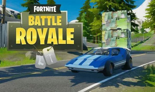 Fortnite v13.30 brings cars