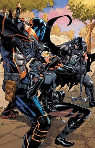 Illustration from Batman Fortnite Zero Point issue four