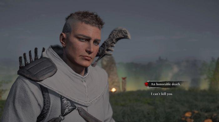 Assassins Creed Valhalla Wrath of the Druids DLC final choice spare or kill ciara