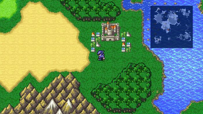 Final Fantasy IV Pixel Remaster screenshot