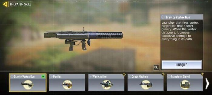 Gravity Vortex Gun COD Mobile