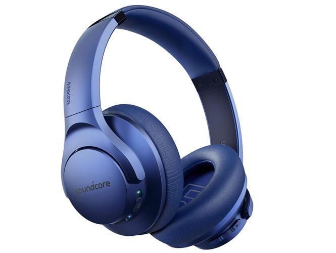 best budget wireless headphones, product image of blue headphones