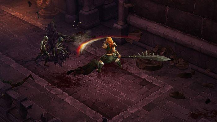 Diablo 3 Barbarian Class Screenshot