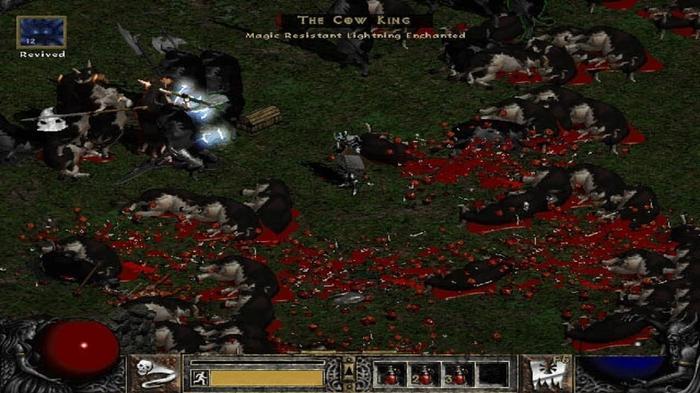Diablo 2 The Secret Cow Level