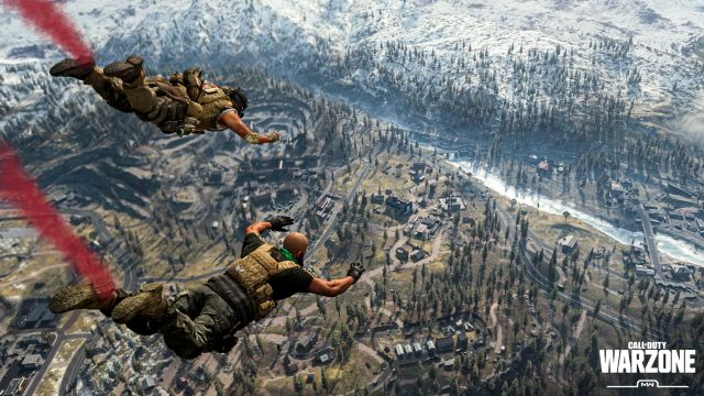 Two Warzone Operators Dropping Into Verdansk