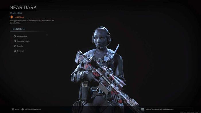 Roze Near Dark Operator Skin