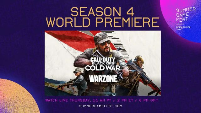 Warzone Season 4 Reveal Summer Game Fest