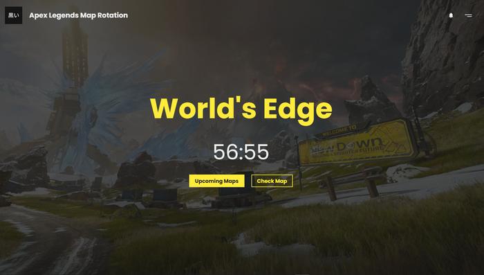 Apex Legends Map Rotation screenshot