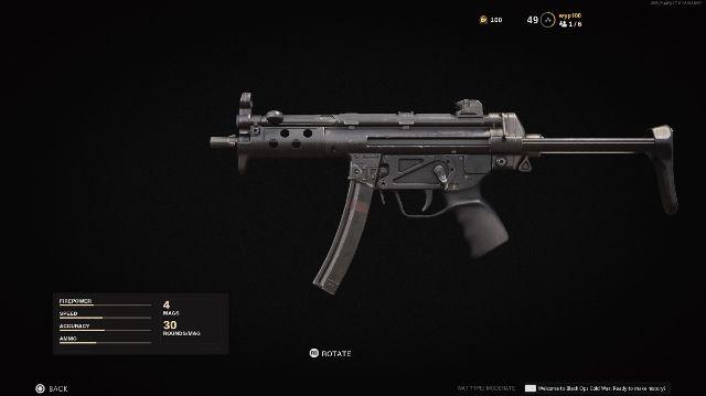 MP5 Cold War Warzone Season 4