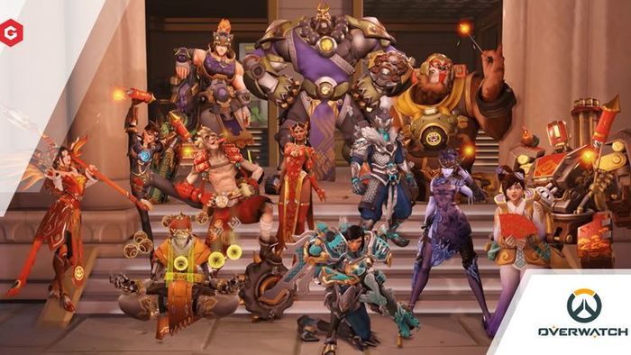 Overwatch Christmas Skins 2021 Leak Overwatch Lunar New Year 2021 Event Release Date Modes Skins Map Changes And More