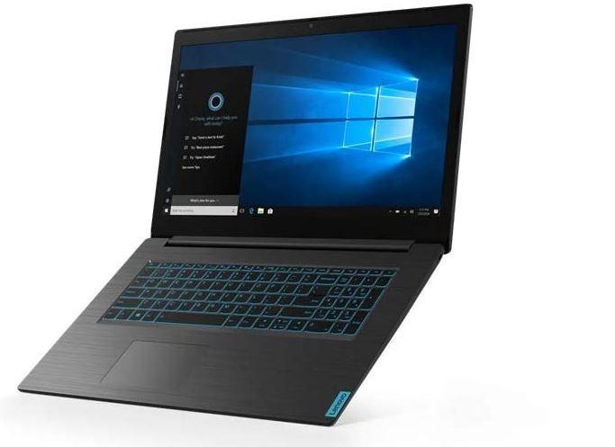 The Lenovo L340 Gaming Laptop Open on the windows desktop