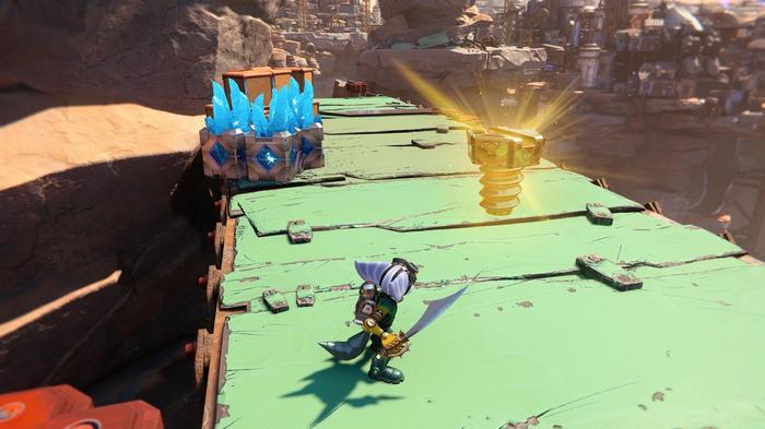 Ratchet and Clank Rift Apart Gold Bolt 16