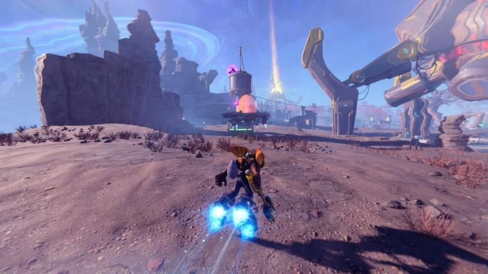 Ratchet and Clank Rift Apart Gold Bolt 11 Location