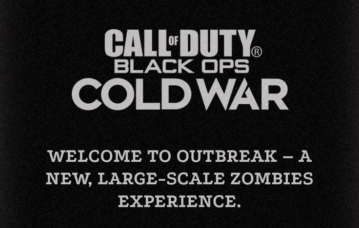 Outbreak mode Black Ops Cold War