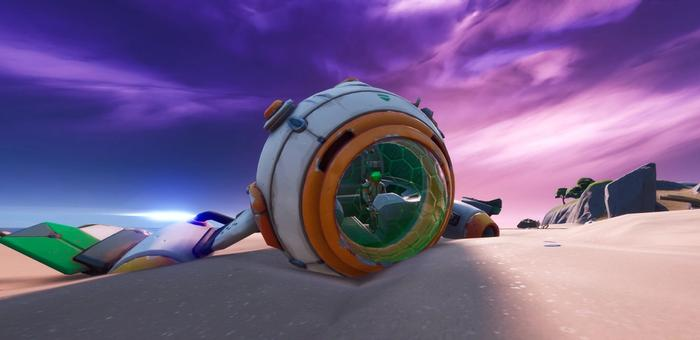 Fortnite Chapter 2 Season 3 Ancient Astronaut POI Challenges leaked